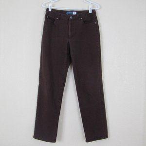 Vintage Brown Lizwear Denim Jeans, 8
